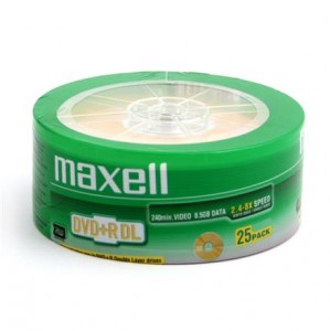 DVD+R MAXELL 8,5GB